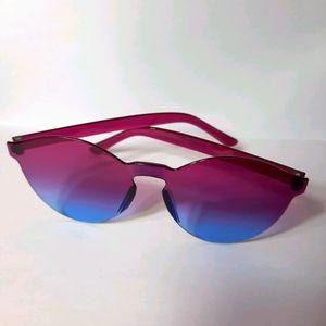 Blue and Purple Sunset Sunnies